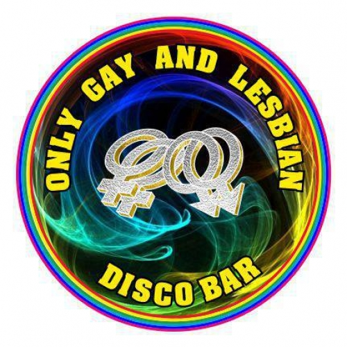 Disco Bar Only Gay and Lesbian