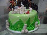 Tortas en Pastillaje Barranquilla 4077