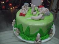Tortas en Pastillaje Barranquilla 4080