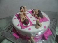 Tortas en Pastillaje Barranquilla 4117