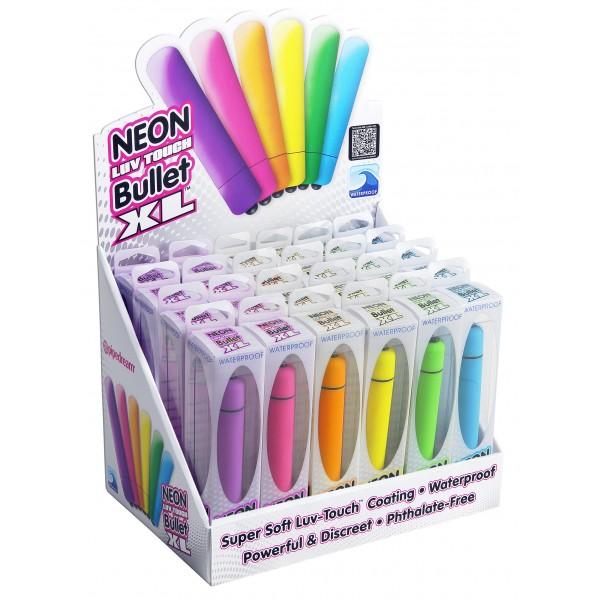 Bala Grande Neon Luv Touch Bullet XL