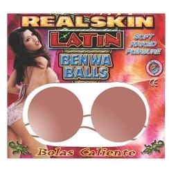 Bolas Real Skin Latin Ben-Wa