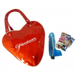 Bolso Kit Vibrador Jelly Gems 9