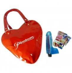 Bolso Kit Vibrador Jelly Gems 9