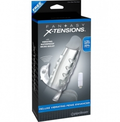 Fantasy X-tensions Deluxe Vibrating Penis Enhancer