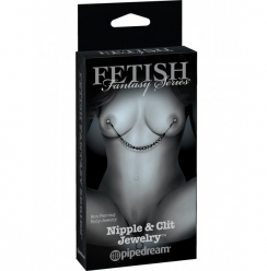 Fetish Fantasy 50 Sombras Nipple and Clit Jewelry