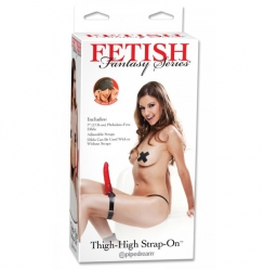 Fetish Fantasy Series Thigh High Strap On