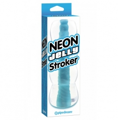 Vagina Neon Jelly Stroker