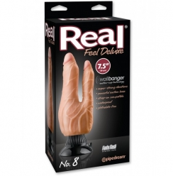 Vibrador Real Feel Deluxe No. 8 - 7.5