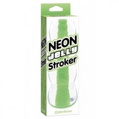 Vagina Neon Jelly Stroker 1362