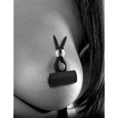 Vibrador de Pezones Vibrating Silicone Nipple Lassos 778