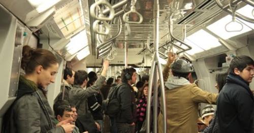 Calor en el metro